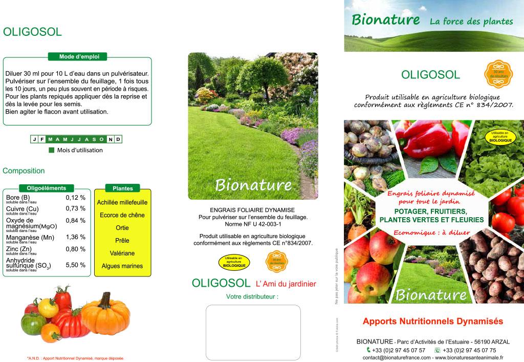 D pliant oligosol jardin 2017 mail 1 bionature la for Jardin jardin 2017